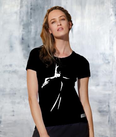 """T-shirt femme """"Batman by T73"""""""