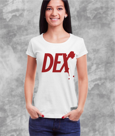"""T-shirt femme """"Dexter by T73"""""""