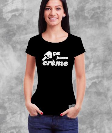 """T-shirt femme """"Ça Passe..."""