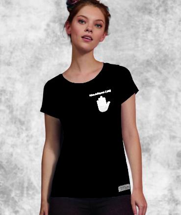 "T-shirt femme ""AntiSPAM by..."