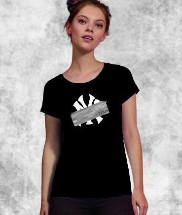 """T-shirt femme """"N*w Y*rk by..."""
