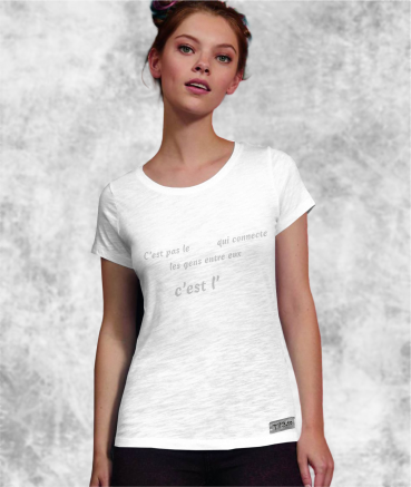 "T-shirt femme ""Apéro vs..."
