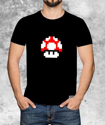 "T-shirt homme ""Red Mushroom..."