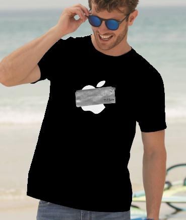 """T-shirt homme """"Ap*le by T73"""""""
