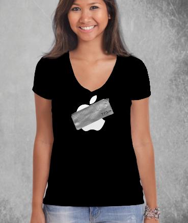 """T-shirt femme """"Ap*le by T73"""""""