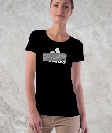 "T-shirt femme ""Ad*das by T73"""