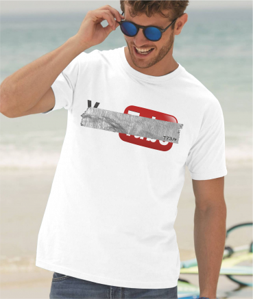 """T-shirt homme """"Y**tube by T73"""""""