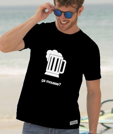 "T-shirt homme ""Ça mousse by..."