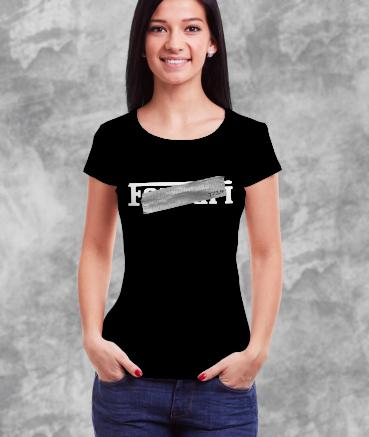 "T-shirt femme ""F*rrari by T73"""