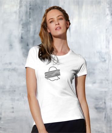 "T-shirt femme ""Sn*pchat by..."