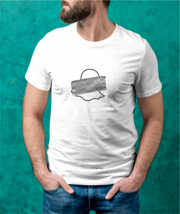 """T-shirt homme """"Sn*pchat by..."""