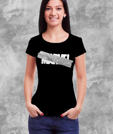 "T-shirt femme ""M*rvel by T73"""