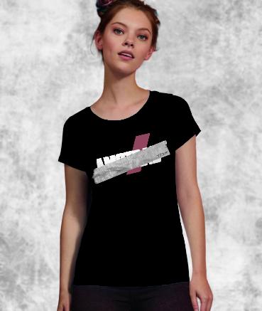 """T-shirt femme """"Amstr*d by T73"""""""