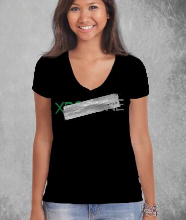 "T-shirt femme ""Xb*x by T73"""