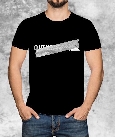 """T-shirt homme """"Qu*cksilver..."""