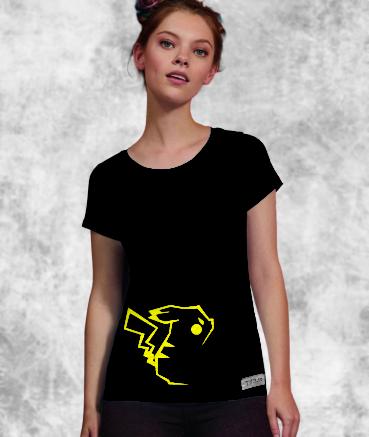 "T-shirt femme ""Pika by T73"""